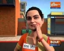 OMG: Kangana hits-out at Uddhav Thackeray after BMC demolishes her office in Mumbai