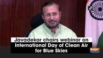 Javadekar chairs webinar on International Day of Clean Air for Blue Skies