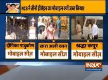 NCB seizes mobile phones of Deepika Padukone, Sara Ali Khan, Others in drugs case
