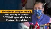 Increase in antigen testing, sero survey to combat COVID-19 spread in Pune: Prakash Javadekar