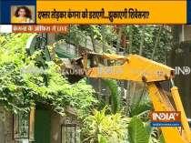BMC bulldozes Kangana Ranaut