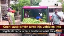 Kochi auto driver turns his vehicles into vegetable carts to earn livelihood amid lockdown
