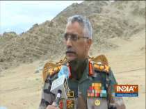 The situation along LAC is slightly tensed, says Army Chief Manoj Mukund Naravane