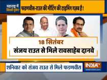 Maharashtra: Congress,NCP upset with Sanjay Raut-Devendra Fadnavis meet