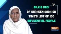 Bilkis dadi of Shaheen Bagh on TIME