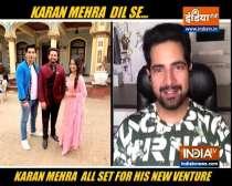 Karan Mehra makes his comeback to television