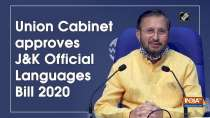 Union Cabinet approves Jammu and Kashmir Official Languages Bill 2020