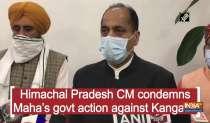 Himachal Pradesh CM condemns Maha
