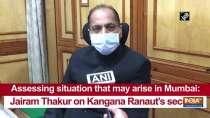 Assessing situation that may arise in Mumbai: Jairam Thakur on Kangana Ranaut