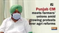 Punjab CM meets farmers