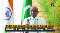 India has remained a great friend amid COVID-19 crisis: Maldives Foreign Minister