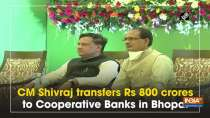 CM Shivraj transfers Rs 800 crores to Cooperative Banks in Bhopal