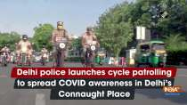 Delhi police launches cycle patrolling to spread COVID awareness in Delhi
