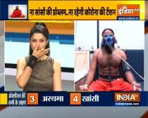 Swami Ramdev suggests doing bhramari and bhastrika for strong lungs