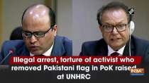 Illegal arrest, torture of activist who removed Pakistani flag in PoK raised at UNHRC