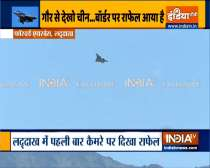 Watch: IAF Rafale fighter jet operating over forward airbase near LAC