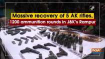 Massive recovery of 5 AK rifles, 1200 ammunition rounds in J-K