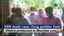 SSR death case: Drug peddler Zaid Vilatra produced in Mumbai court