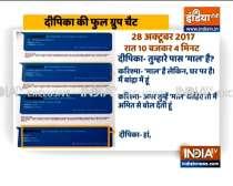 WhatsApp drugs chat of Deepika Padukone that led NCB to summon her