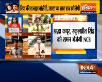 SSR Case: NCB to summon Shraddha Kapoor, Sara Ali Khan & Rakul Preet