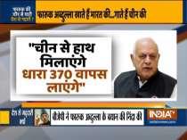 BJP slams Farooq Abdullah for