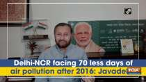 Delhi-NCR facing 70 less days of air pollution after 2016: Javadekar