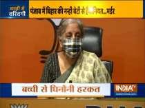 Nirmala Sitharaman slams Congress for