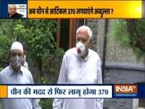 BJP slams Farooq Abdullah over his