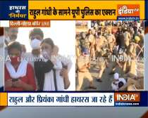 UP Police lathi charged on Congress workers at Delhi-Noida flyway