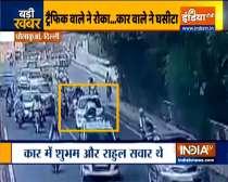 Traffic Policeman in Delhi