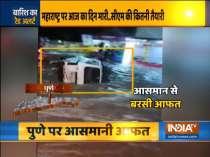 Rains wreak havoc in Maharashtra, IMD issues red alert for Pune, orange alert for Mumbai