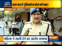Woman thrashes on-duty traffic police constable in Mumbai