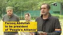 Farooq Abdullah to be president of