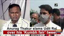 Anurag Thakur slams Udit Raj over his