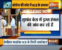 NCB officer investigating Bollywood drug case tests COVID19 positive