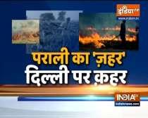 Delhi air quality turns