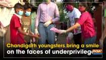 Chandigarh youngsters bring a smile on the faces of underprivileged