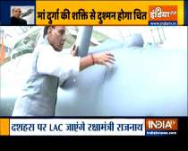 Rajnath Singh to perform arms worship on LAC on the occasion of Dussehra