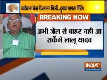 Fodder scam: Lalu Prasad Yadav granted bail, to remain in jail