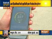 Delhi air pollution spike again as stubble burning continues
