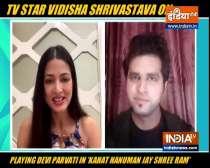 Vidisha Shrivastava on playing Devi Parvati in Kahat Hanuman Jai Shri Ram