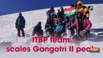 ITBP team scales Gangotri II peak