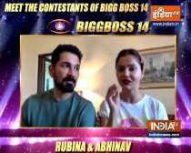 Meet Bigg Boss 14 contestants Rubina Dilaik and husband Abhinav Shukla