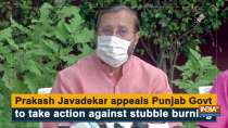 Prakash Javadekar appeals Punjab Govt to take action against stubble burning