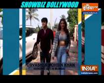 Urvashi Rautela and Mohsin Khan spotted together in Mumbai