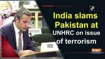 India slams Pakistan at UNHRC on issue of terrorism