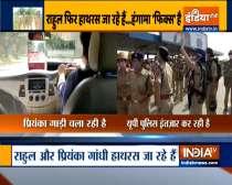 Rahul, Priyanka Gandhi Vadra reach Delhi Noida Direct Flyway