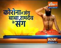 Are your Lungs weak due to cold and pollution? Know remedies from Swami Ramdev