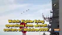 Watch: Fighter flying operations from aircraft carriers at