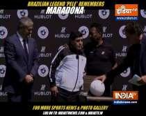 Maradona and I will play football in heaven: Pele